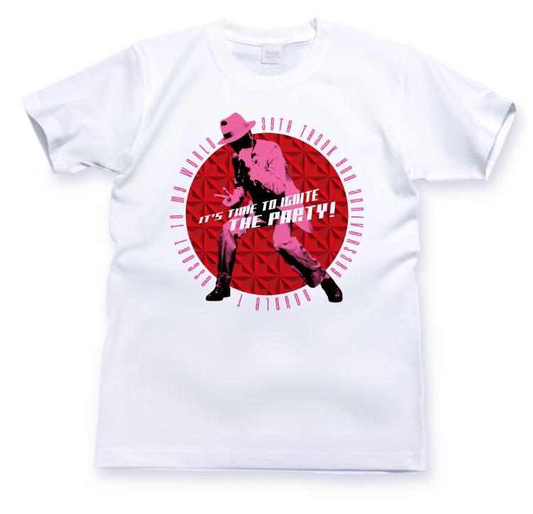 シルエット ピンク<br> T シャツ