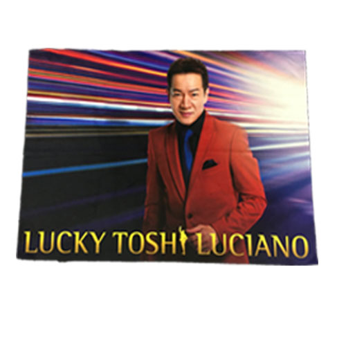 LUCKY TOSHI LUCIANO ブランケット