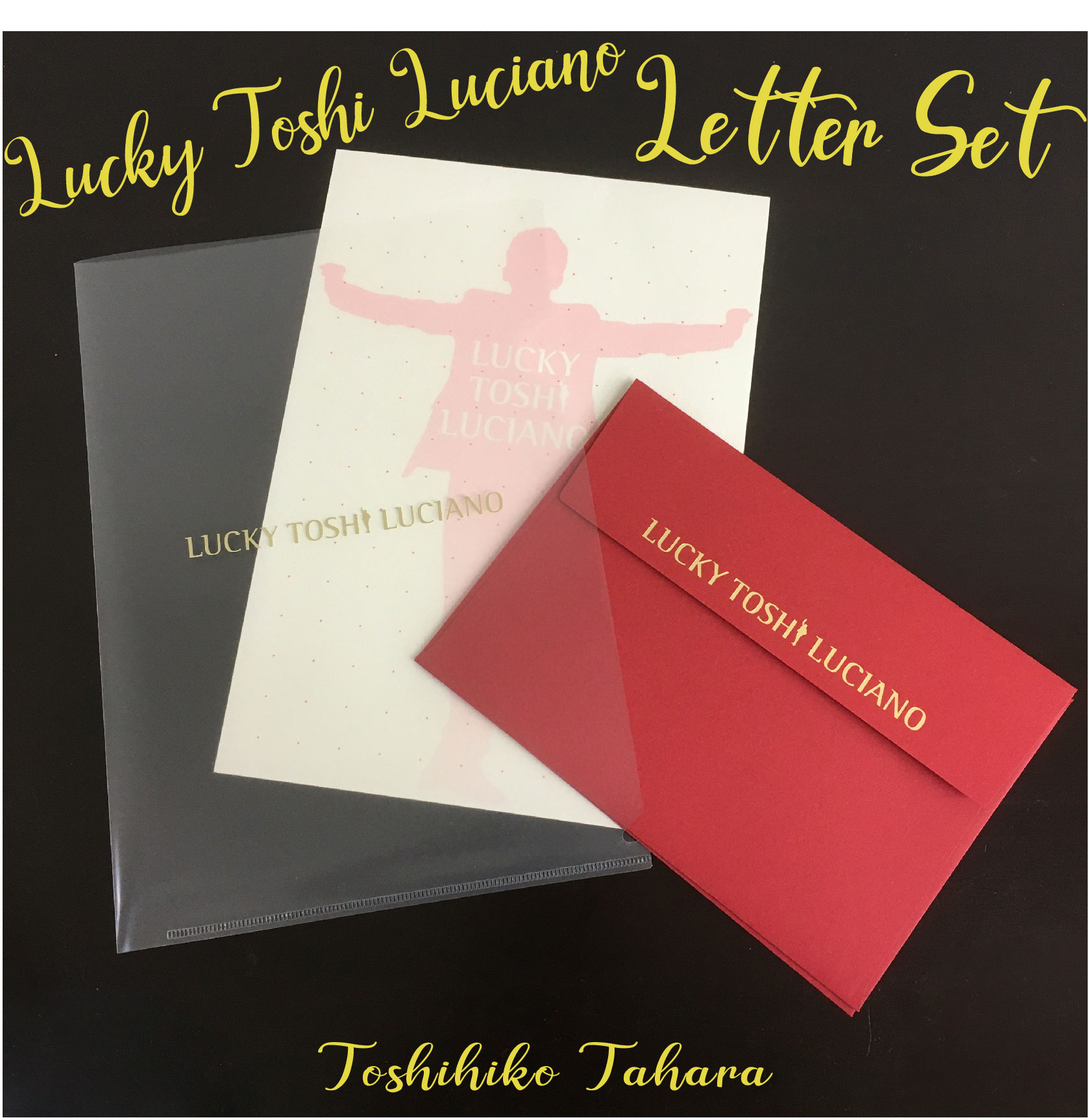 LUCKY TOSHI LUCIANO レターセット